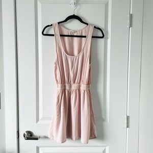ARITZIA / TALULA / PINK MINI SLEEVELESS DRESS